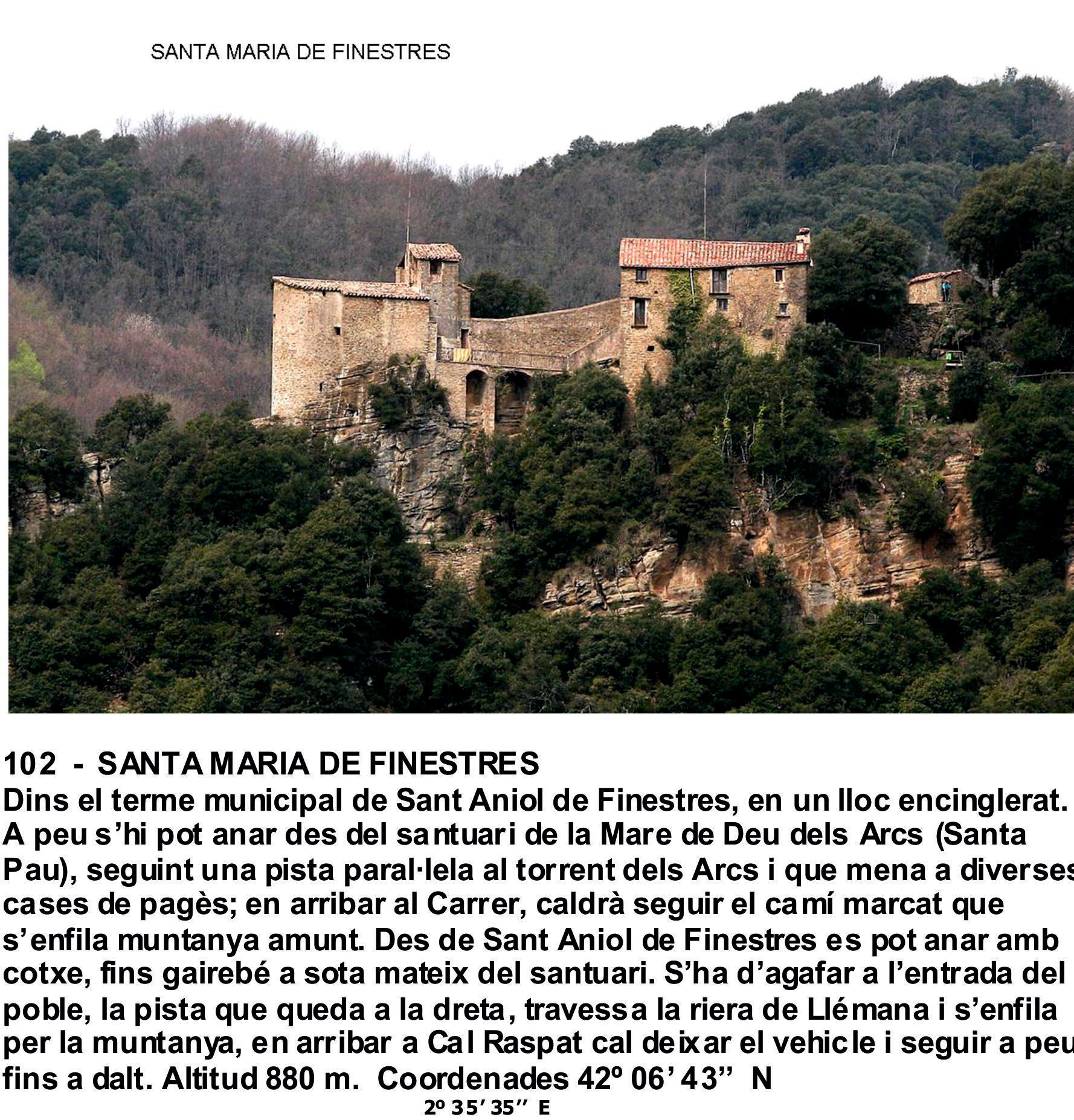 102  -  SANTA MARIA DE FINESTRES