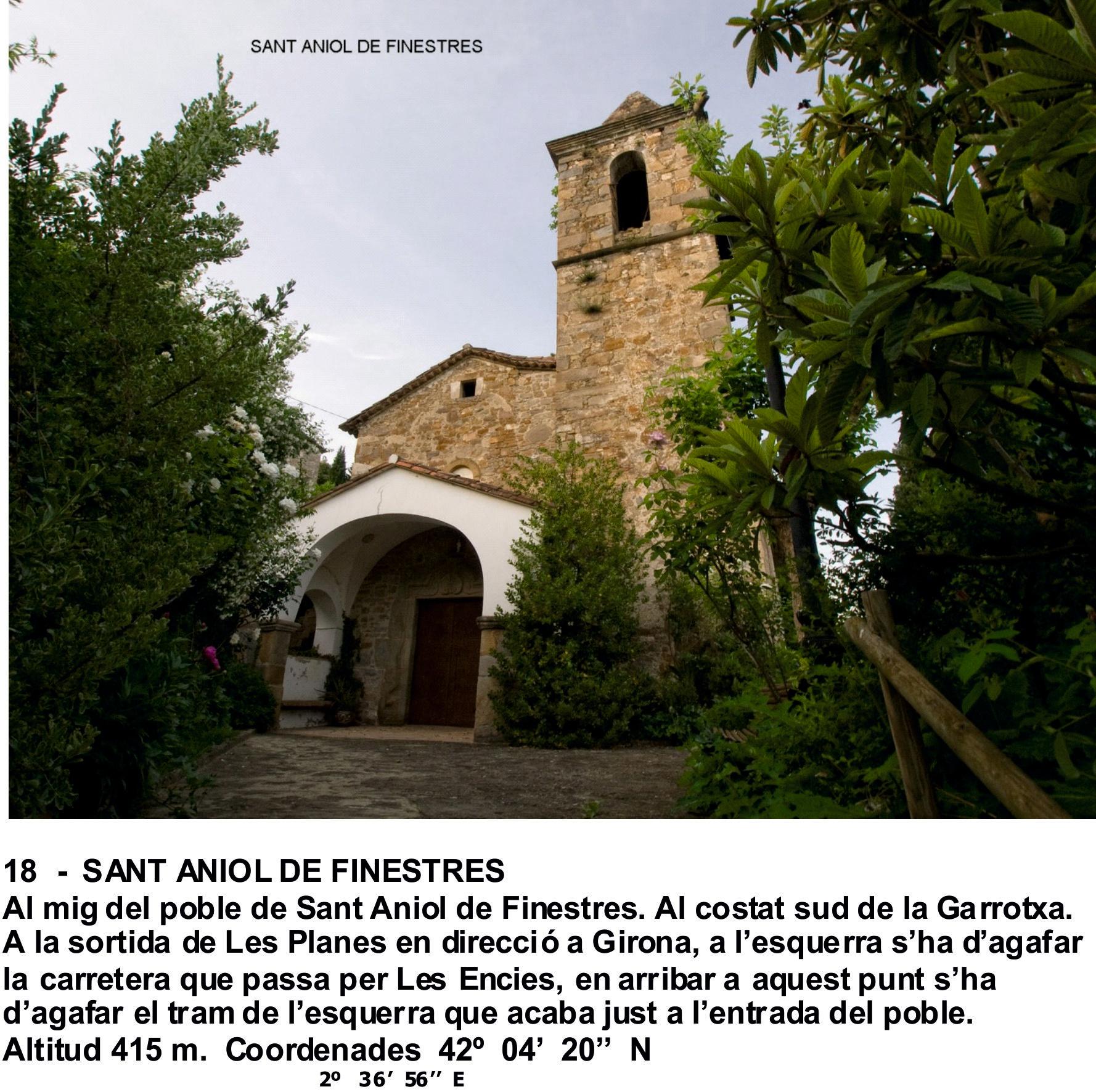 18  -  SANT ANIOL DE FINESTRES