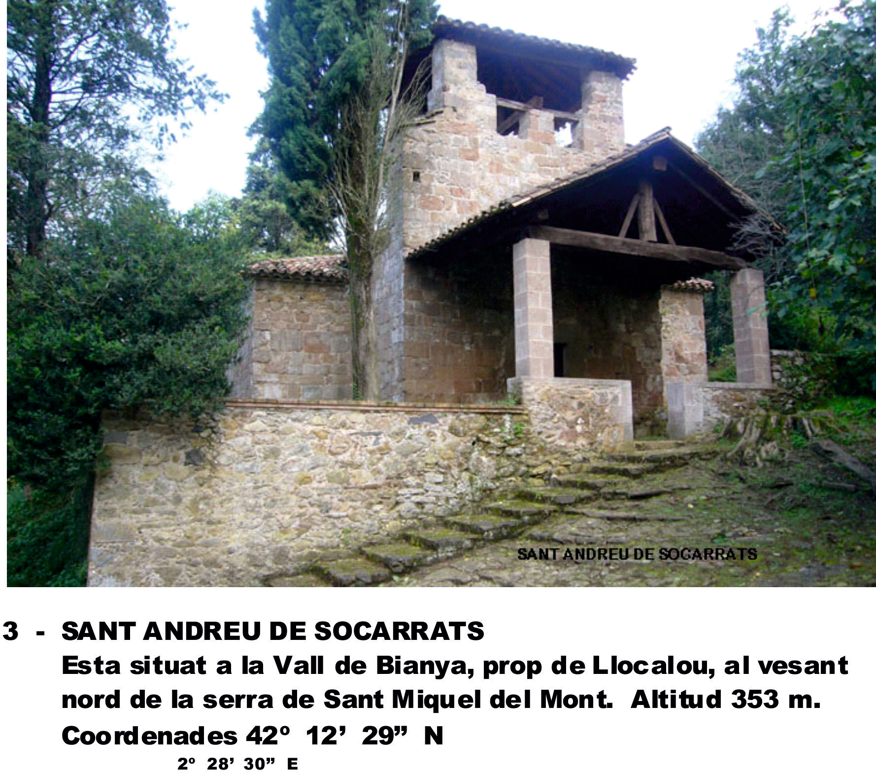 3  -  SANT ANDREU DE SOCARRATS