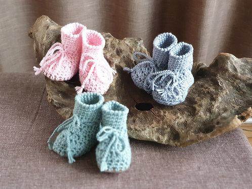 Merino Sheepskin soled slippers