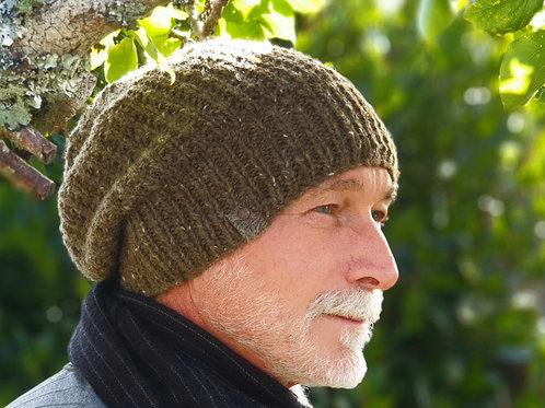 Knitted Slouchy Hat
