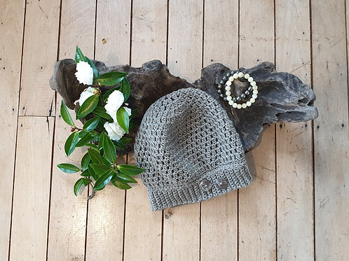 Womens Wool Slouchy Hat