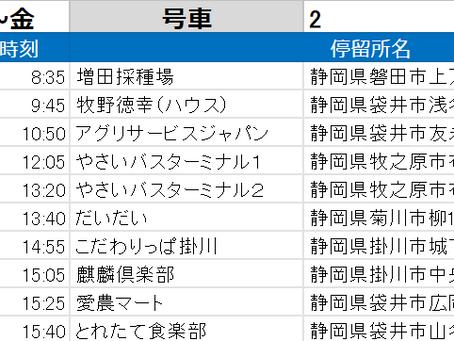 やさいバス時刻表_200501版(静岡)