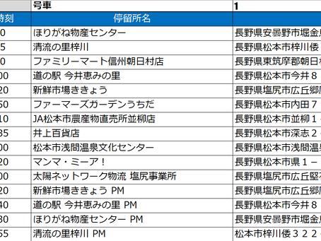 やさいバス時刻表_200501版(長野)