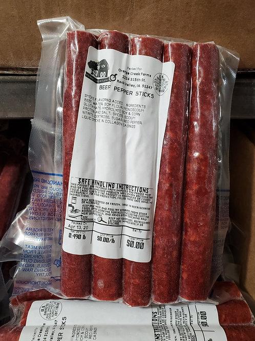 Beef Pepper Sticks
