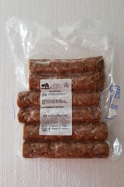 Beef Brats
