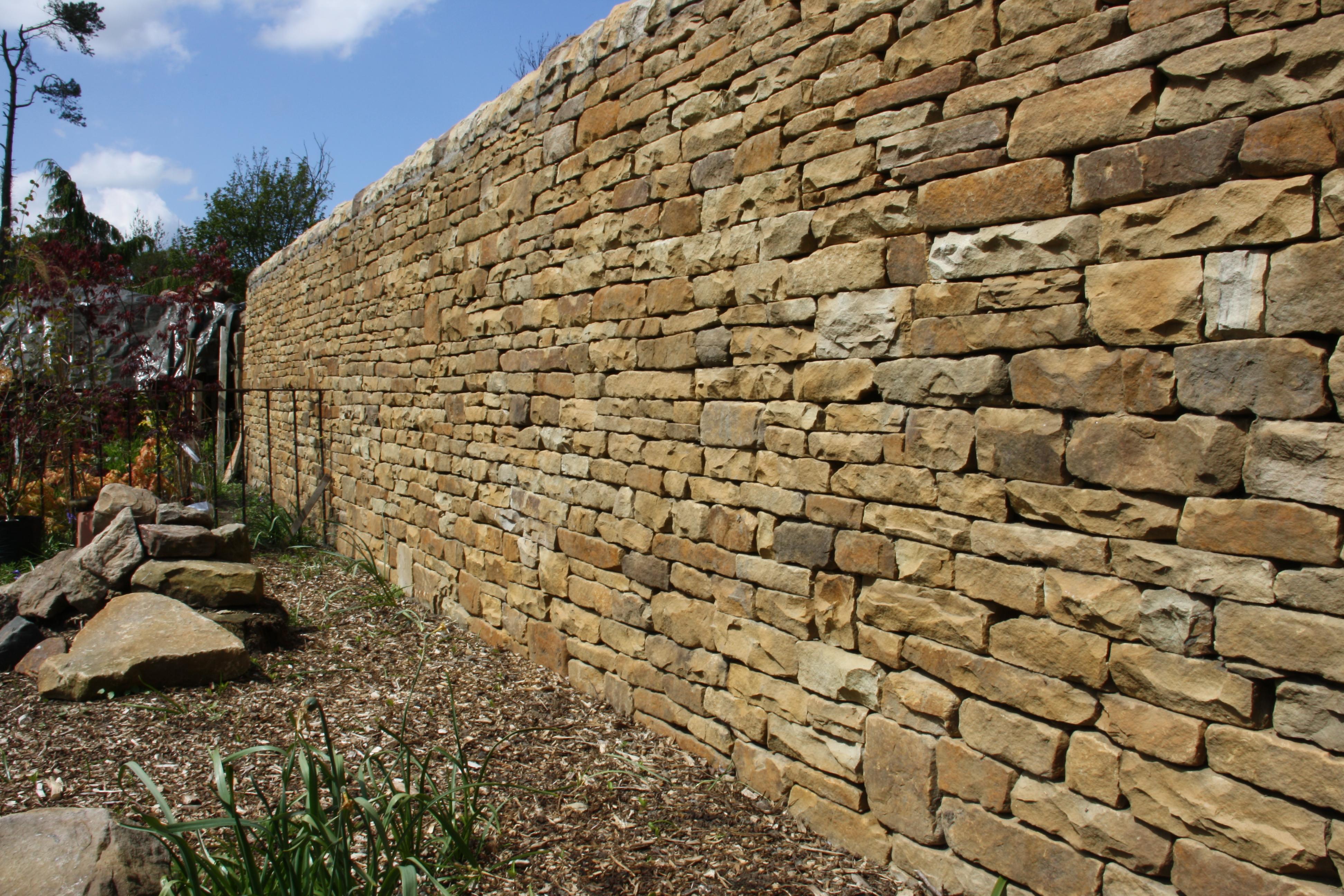Large Garden Retaining Wall