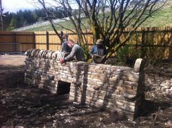 Dry stone walling courses uk