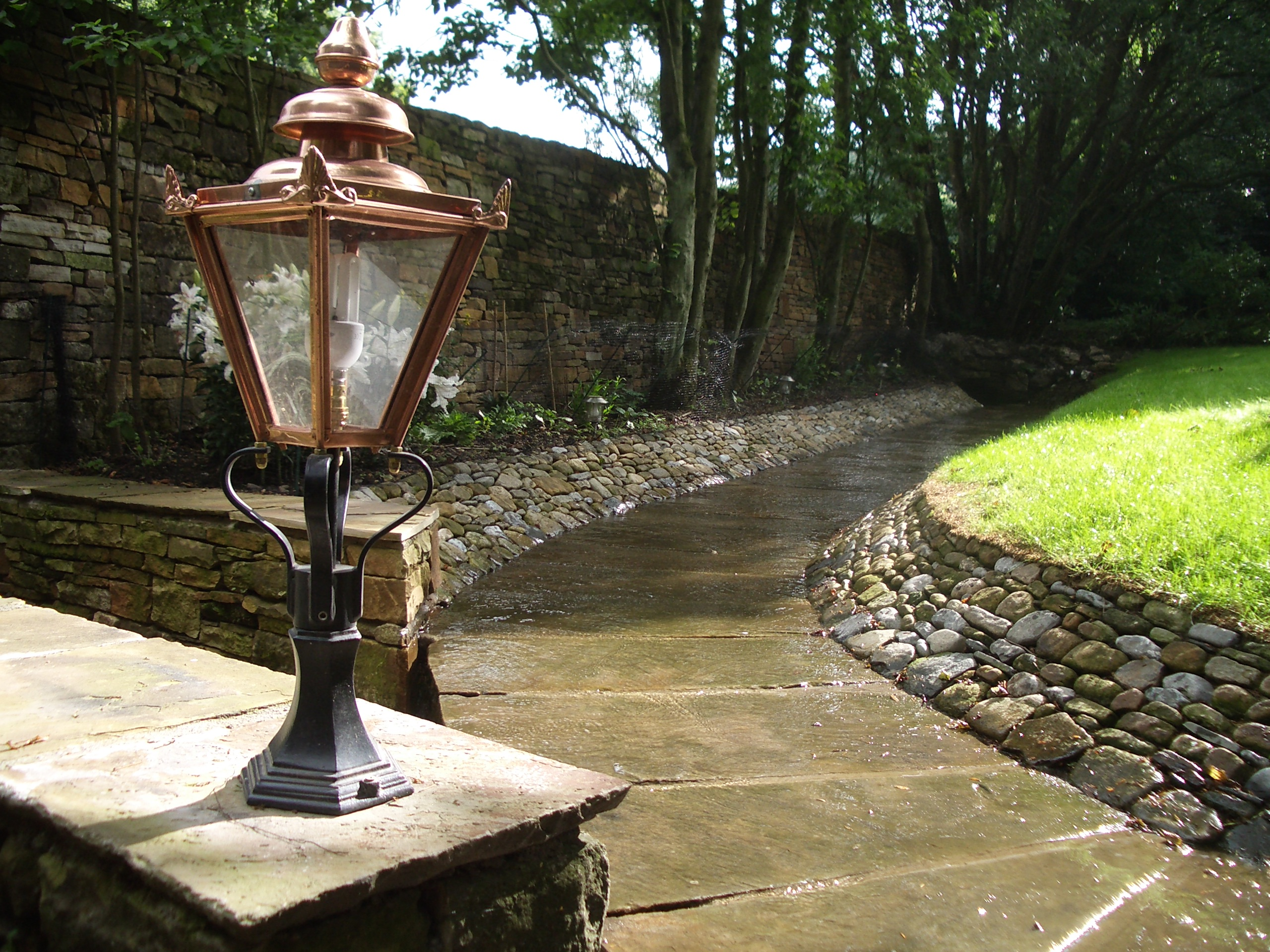 Trickling Water Feature