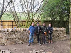 Dry stone walling intructors