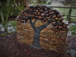 Decorative Dry Stone Tree