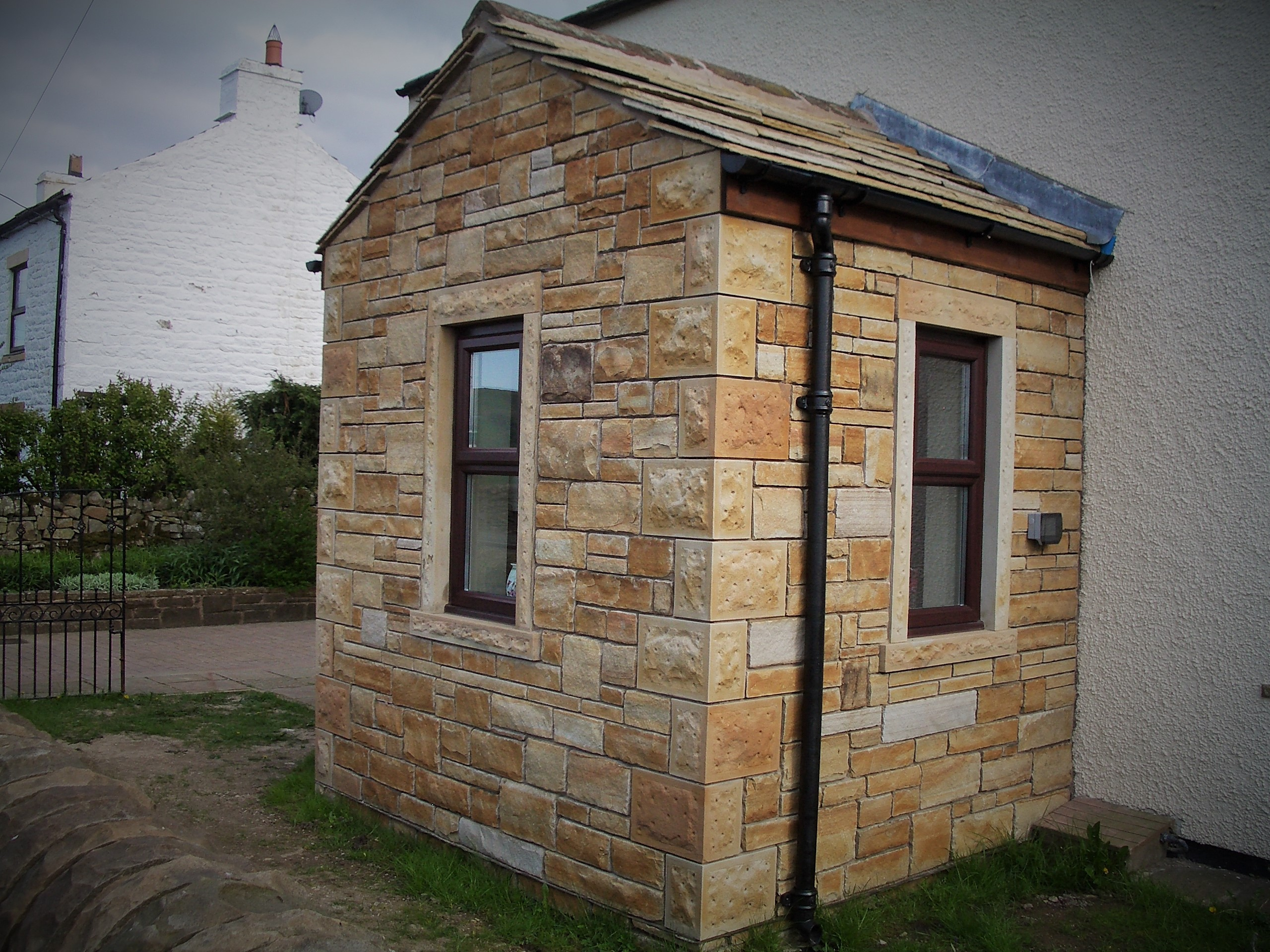 Sandstone Porch