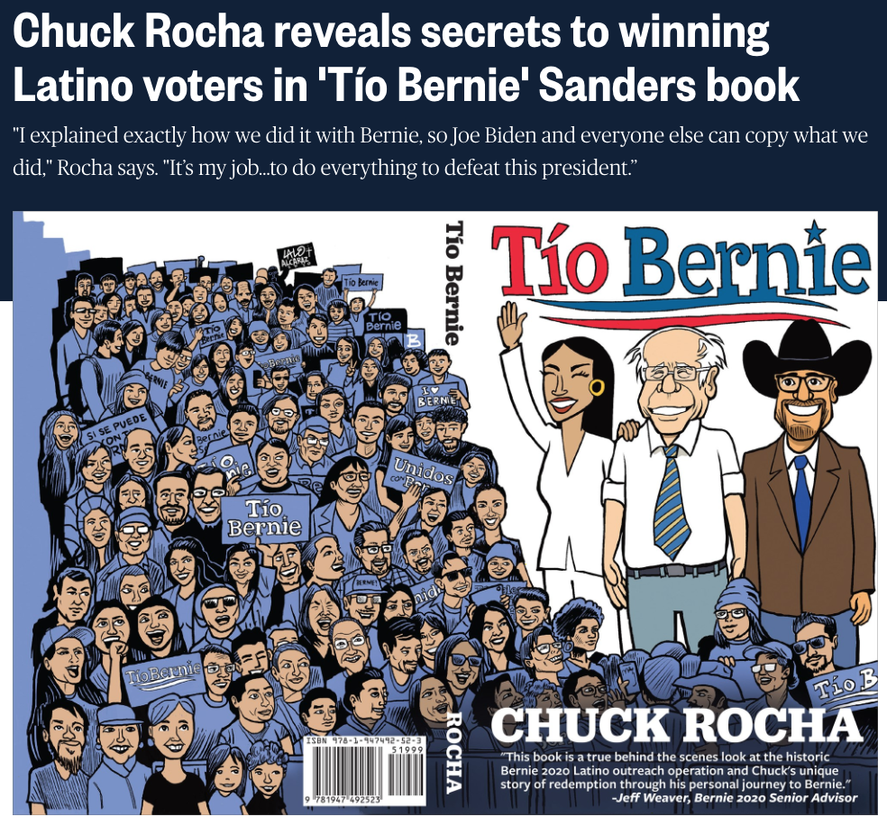 Chuck Rocha reveals secrets to winning L