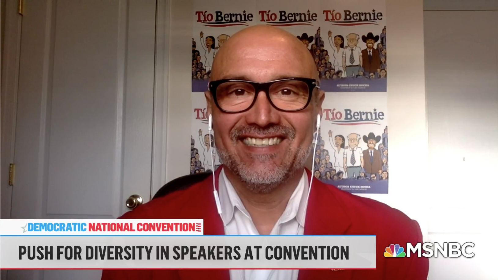 Making the case for Latino voter support at the DNC