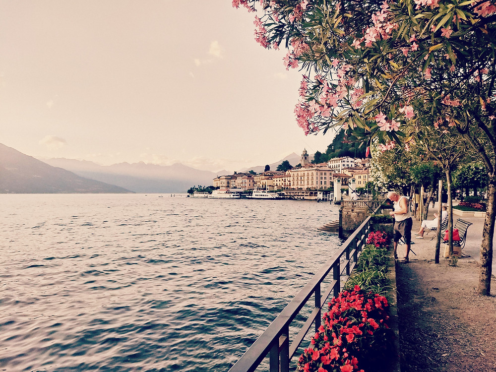 The beautiful, charming town of Bellagio on Lake Como