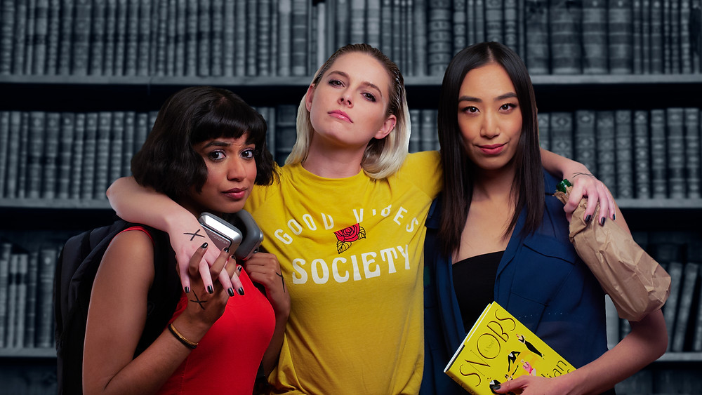 New lesbian TV show Wasted is currently crowd funding, with the pilot set to film in January.