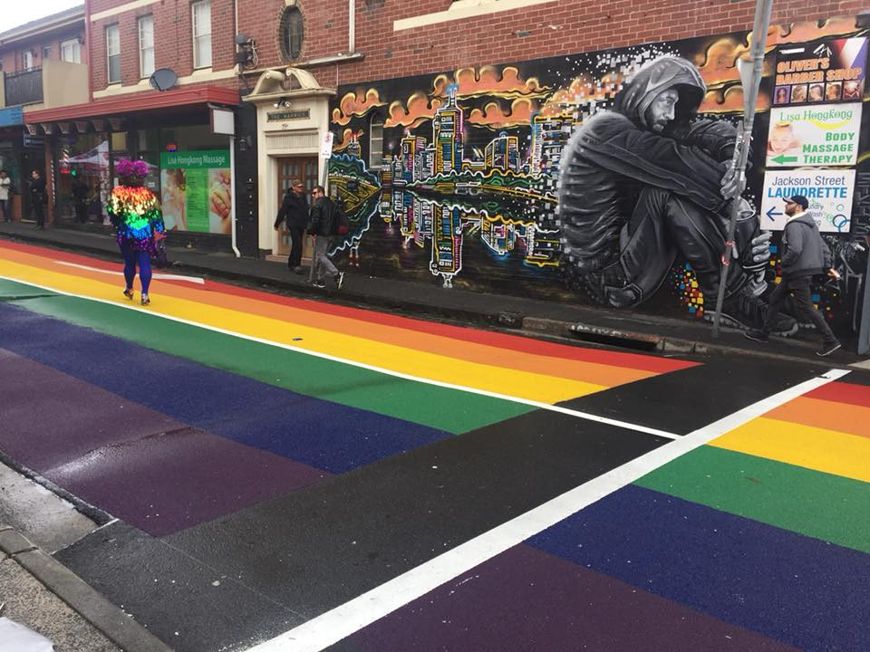 St Kilda's new Pride Road has been officially opened.