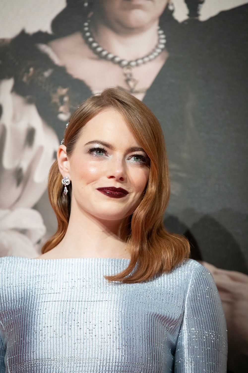 The Favourite co-star Emma Stone, who is nominated for a BAFTA as best supporting actress