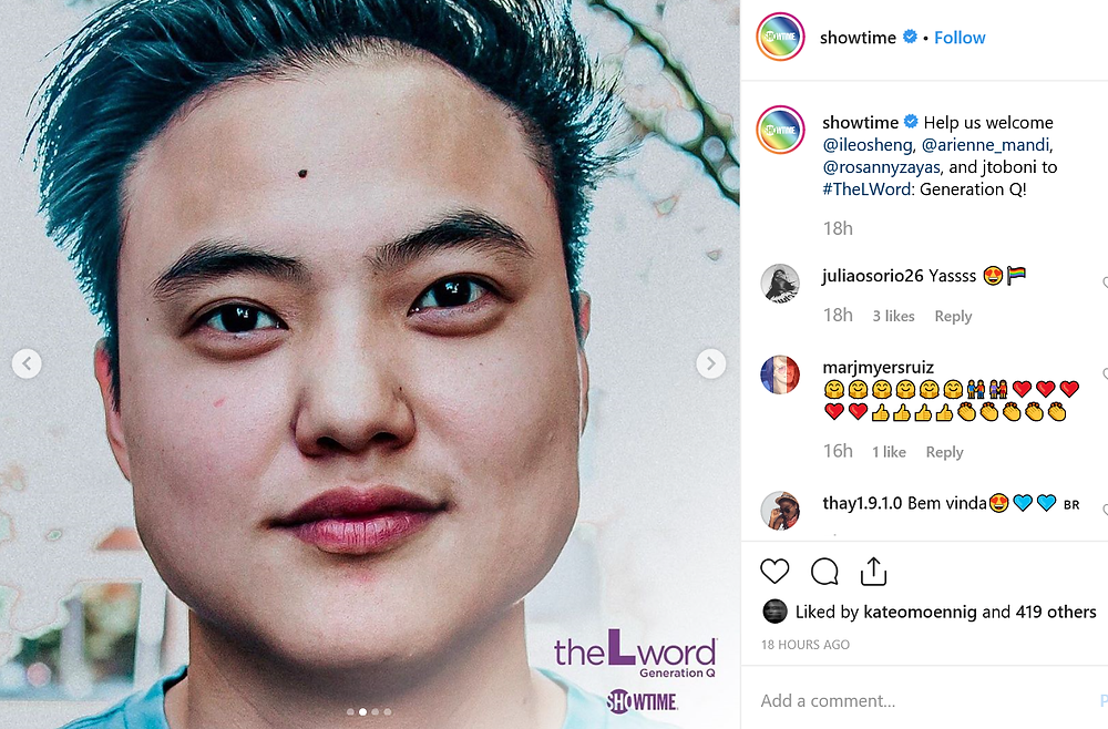 Trans man Leo Sheng will play professor Micah Lee on The L Word: Generation Q