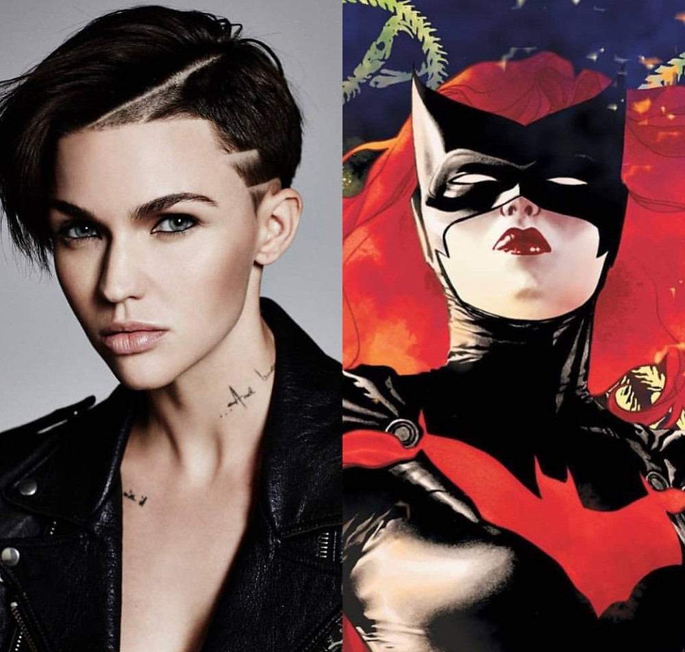 Ruby Rose has been cast as the lesbian Batwoman on the CW.