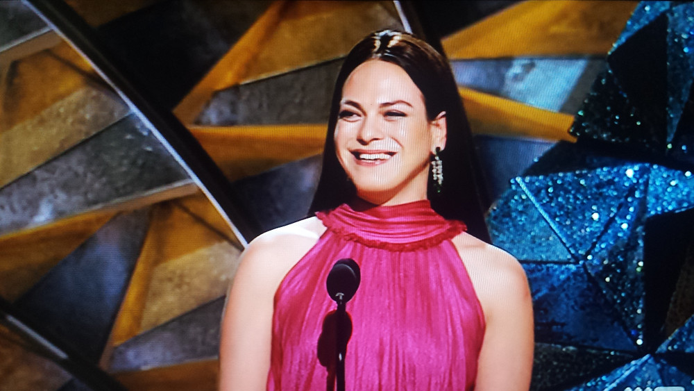 Transgender actress Daniela Vega presented an award at the 90th Annual Academy Awards