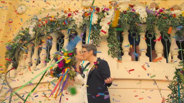 Watch Kesha Officiate Emotional Lesbian Wedding