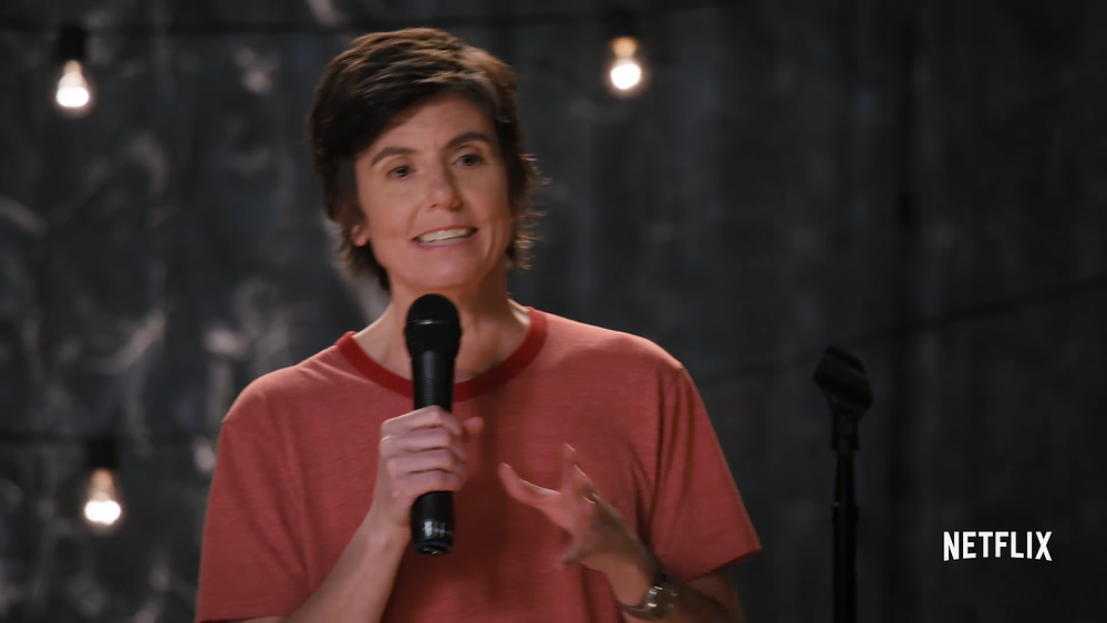 Out lesbian Tig Notaro is writing a Netflix movie about the first lesbian American President, to star Jennifer Aniston.