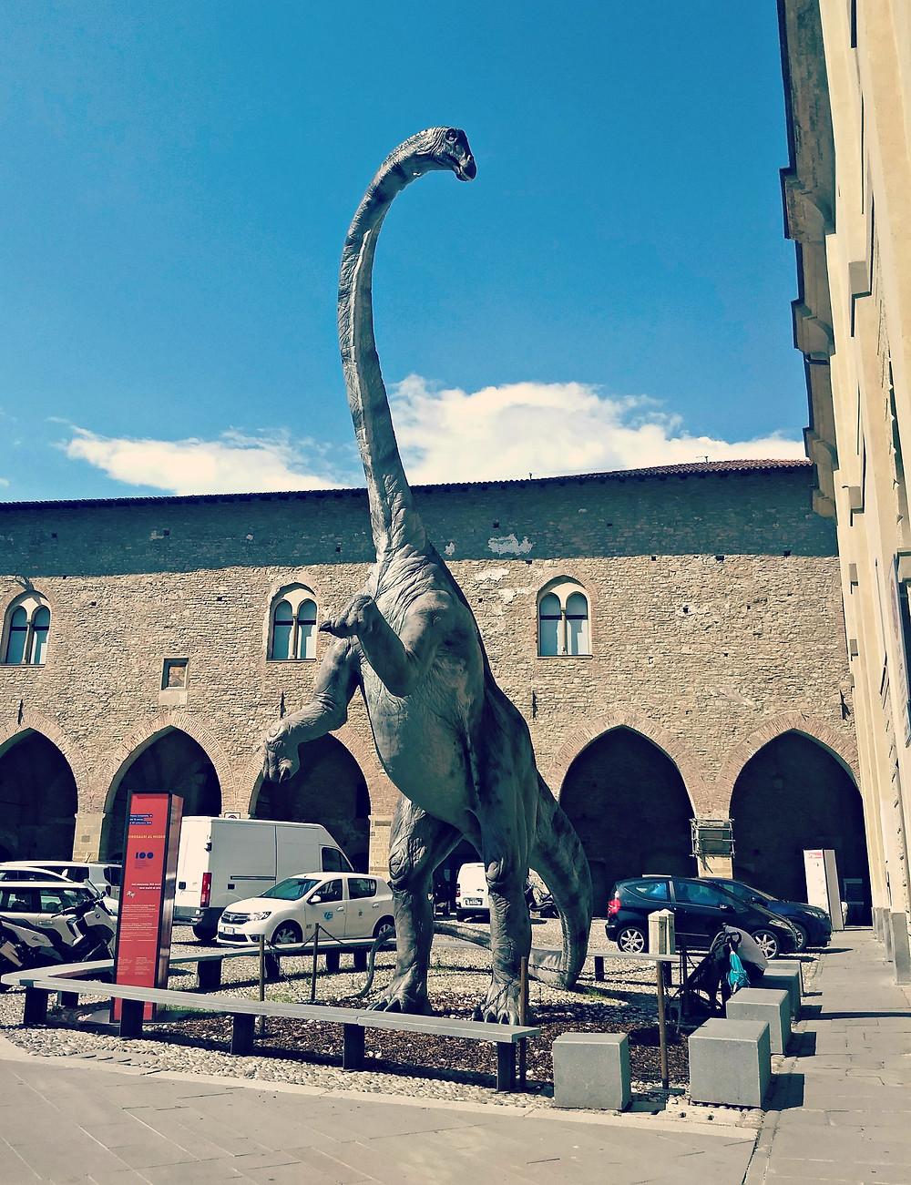 The natural science museum in Piazza della Cittadella, Bergamo.