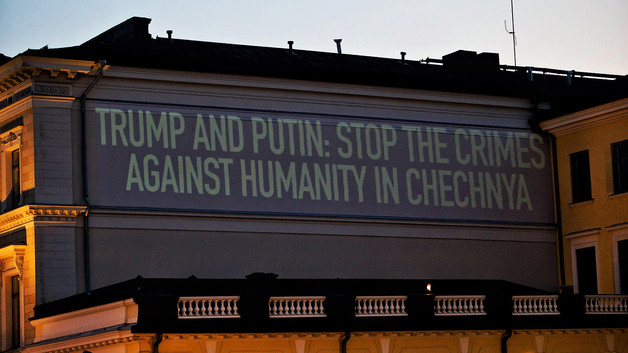 No Mention Of Chechen Purge At Trump Putin Helsinki Summit