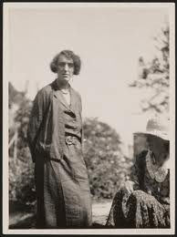 Virginia Woolf with her lover Vita Sackville-West