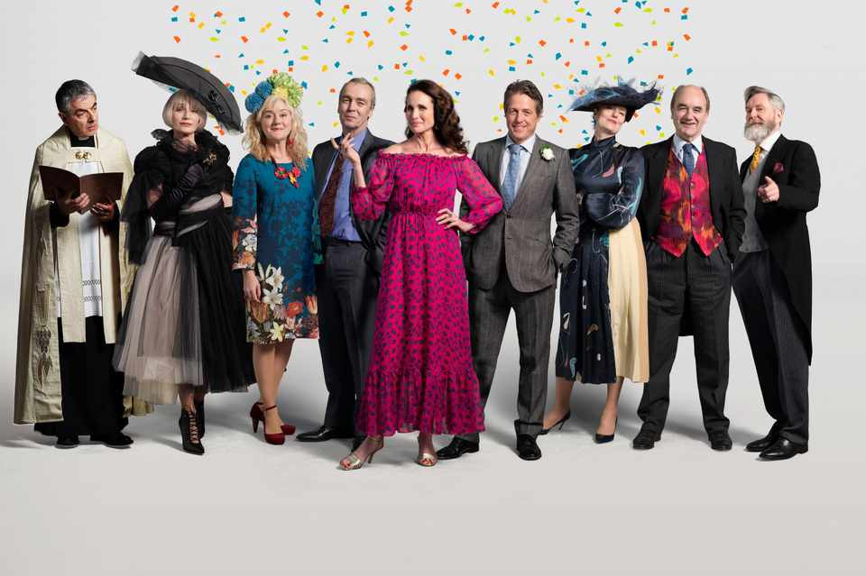 The returning cast for Four Weddings And A Funeral sequel One Red Nose Day And A Wedding