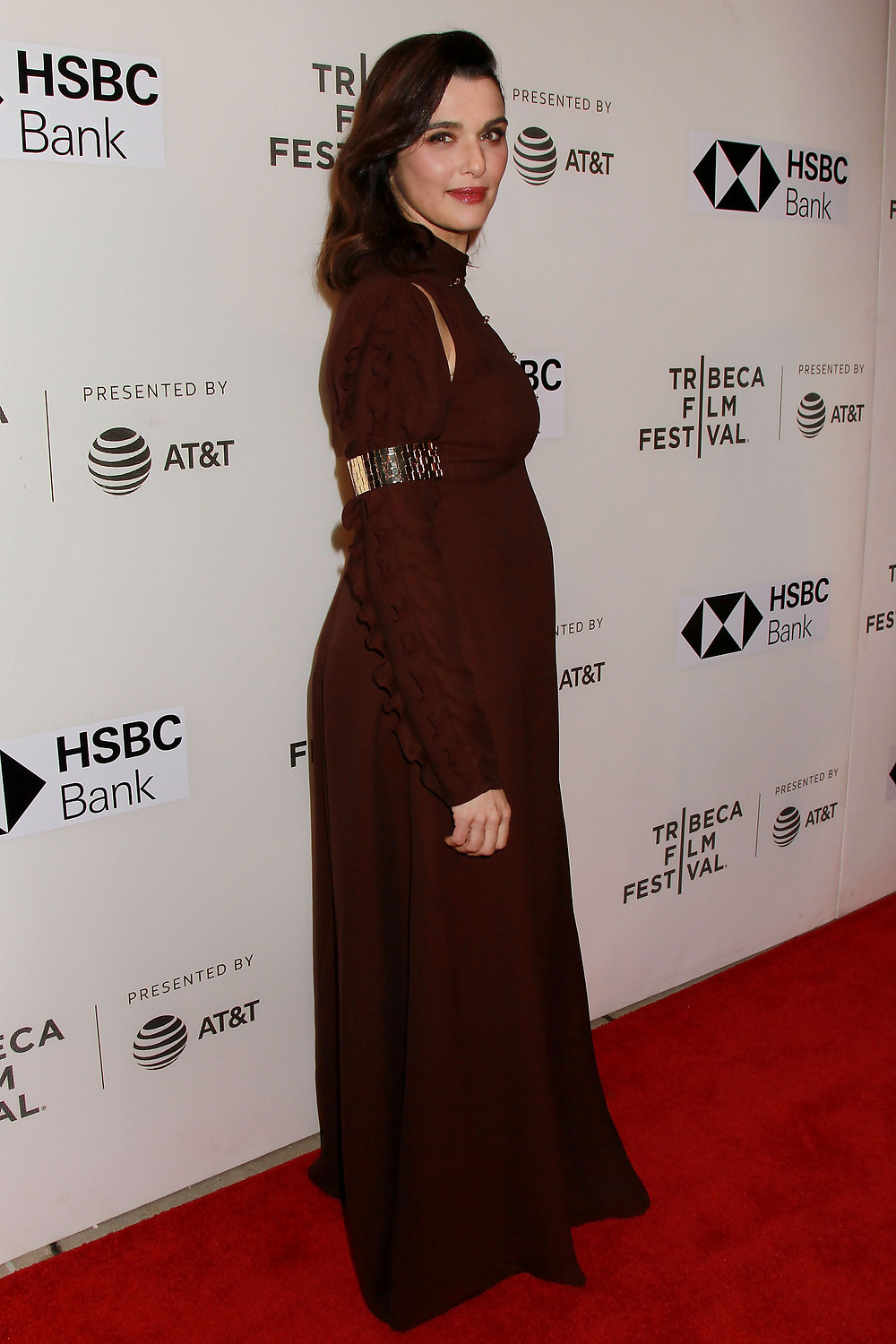 Producer and star of Disobedience, Rachel Weisz at the Tribeca Film Festival