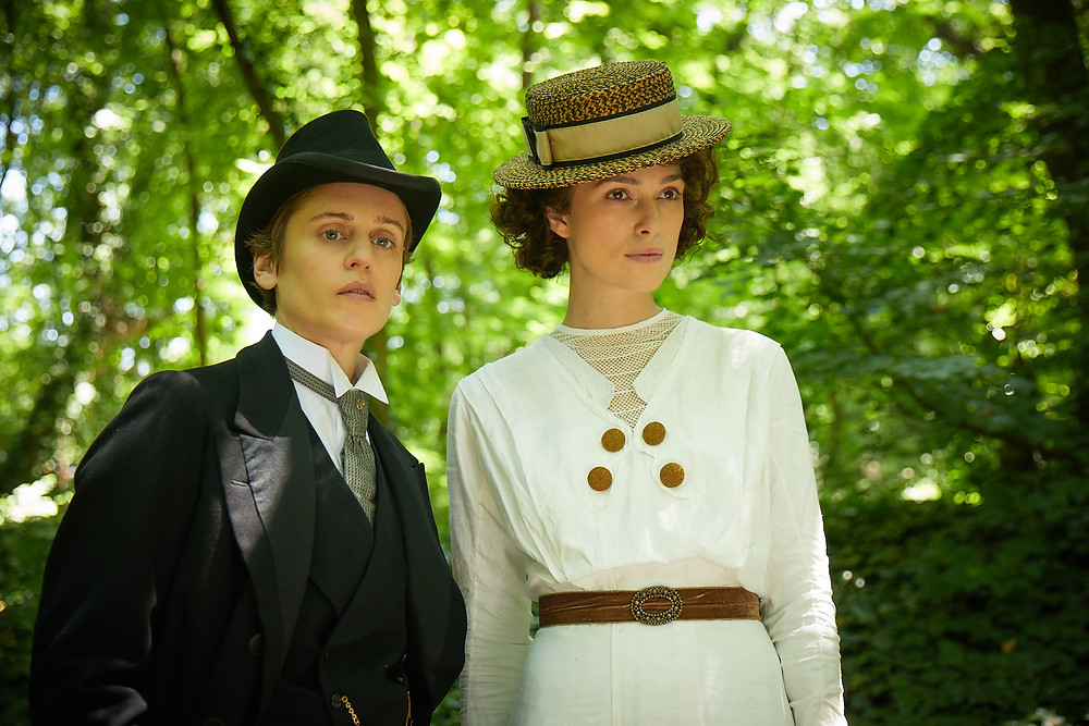 Keira Knightley plays Colette in the acclaimed new movie about the French novelist's life.