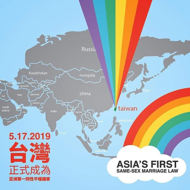 Taiwan Becomes First In Asia To Achieve Marriage Equality