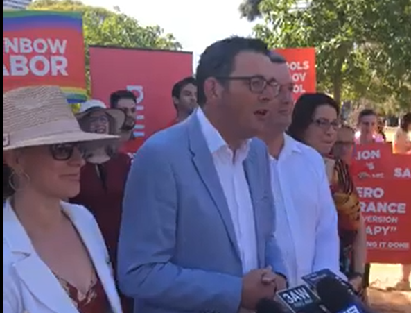 Premier Daniel Andrews has announced that Victoria will become the first state in Australia to ban conversion therapy.