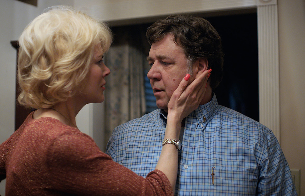 Nicole Kidman and Russell Crowe star as parents who force their son into conversion therapy in Boy Erased.