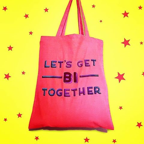 Let's get bi together with the t-shirt from N.A.S tee