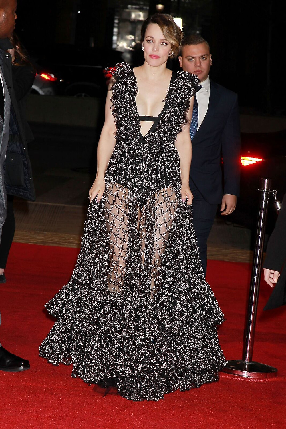 Rachel McAdams arrives at the 2018 Tribeca Film Festival premiere of Disobedience.
