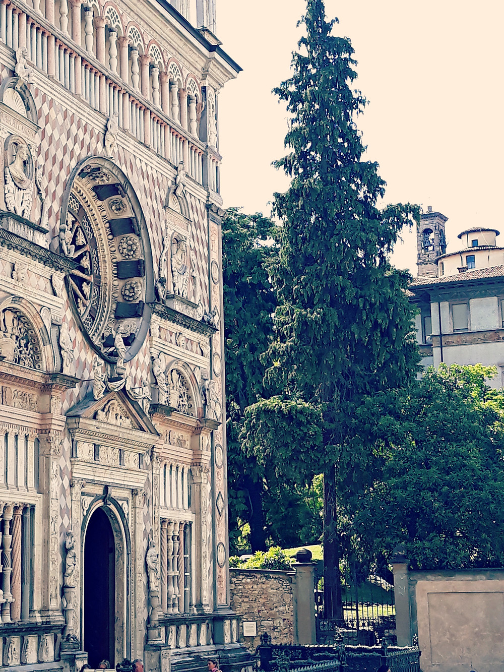The Colleoni Chapel in Bergamo's old town is a renaissance masterpiece.