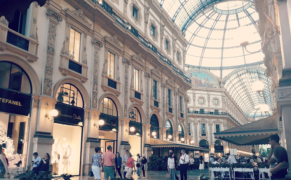 The stunning Galleria Vittorio Emanuele II in Milan