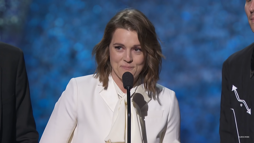 Lesbian singer Brandi Carlile gave an emotional speech at the 2019 Grammys
