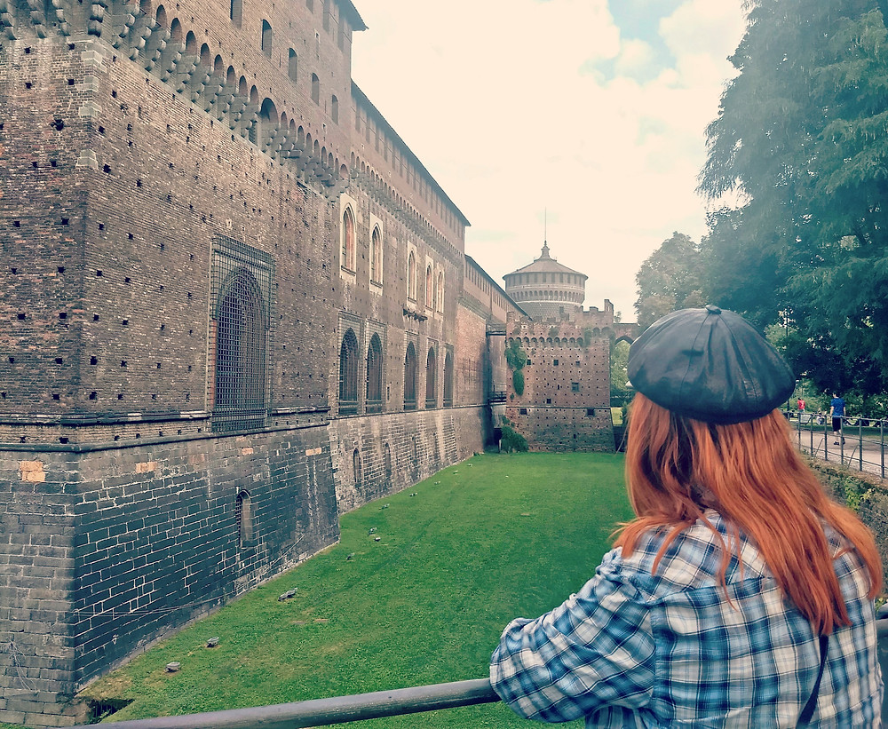 The medieval masterpiece Castle Sforza