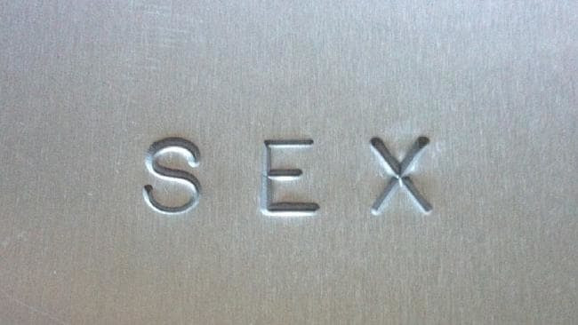 The cover of Madonna's controversial book SEX.