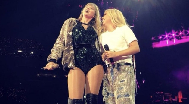 Hayley Kiyoko Performs On Stage With Taylor Swift In First Ever Stadium Appearance