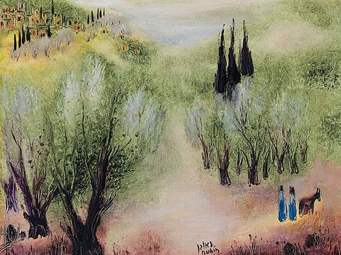 Reuven Rubin In Galilee