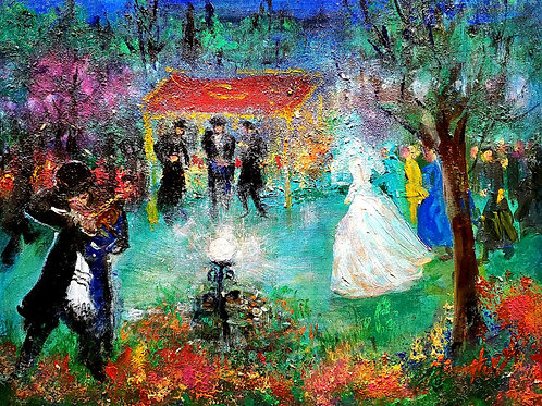Huvy Wedding scene