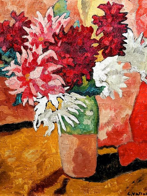 Louis Valtat Bouquet de dahlias, 1940