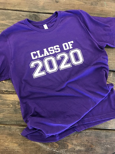 Class of 2020 Bella Canvas Soft T-Shirt Unisex