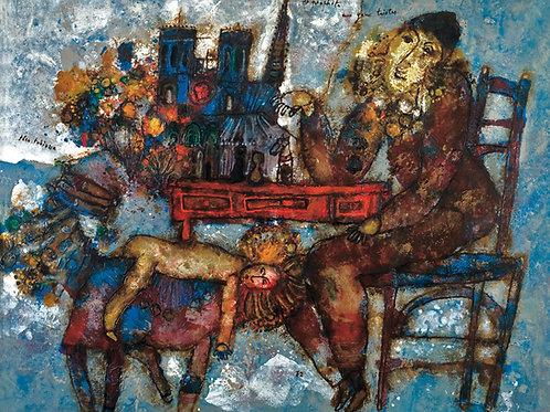 Theo Tobiasse Le prophete aux yeux tristes, 1972