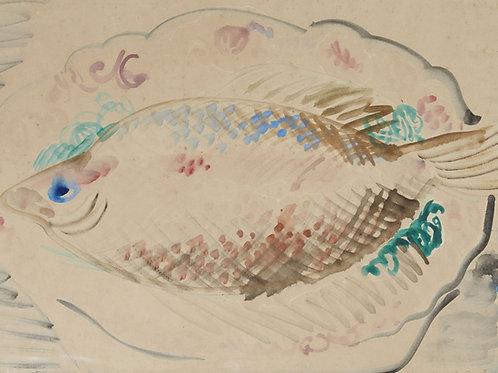 Nature morte au poisson ou le turbot, c.1941